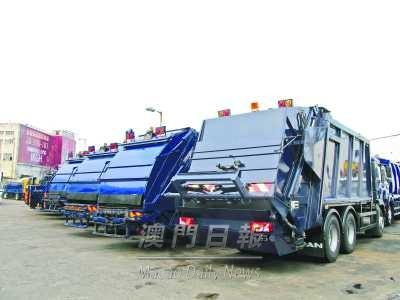 环保垃圾车减污染噪音